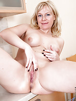 Anilos newcomer Katya Gannau shows her soft and moist pussy